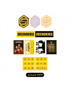 SECHSKIES IRON ON PATCHES & TRANSFERS : SECHSKIES THE 20TH ANNIVERSARY Concert Goods