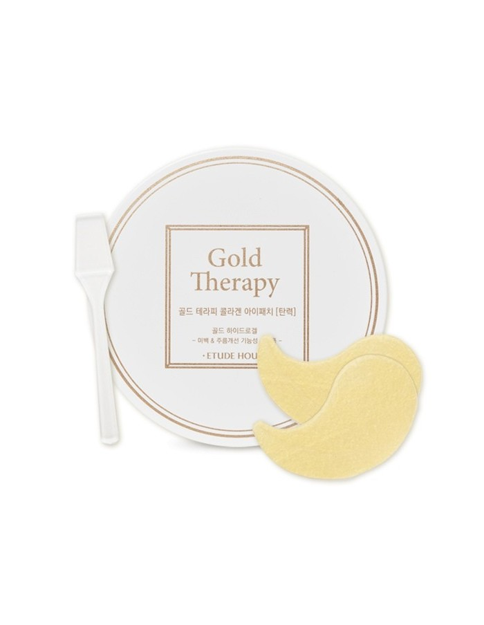 [ETUDE HOUSE] Gold Therapy Collagen Eye Patch