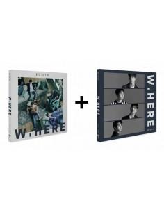 [SET] NU'EST NUEST W - NEW ALBUM (PORTRAIN Ver + STILL LIFE Ver) 2CDs + 2 Different Posters