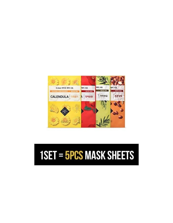 [ETUDE HOUSE] 0.2 Therapy Air Mask SET (5SHEETS) - 19KINDS
