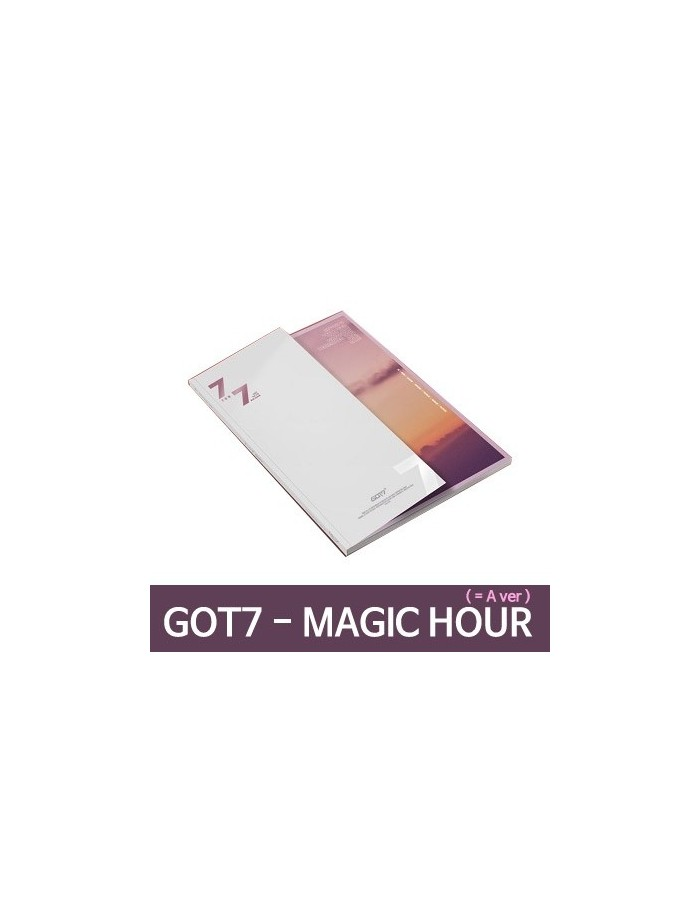 GOT7 - 7 FOR 7 CD + POSTER (Ver.MAGIC Hour) (A  Ver.)