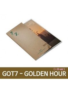 GOT7 - 7 FOR 7 CD + POSTER (Ver.GOLDEN Hour) (B  Ver.)