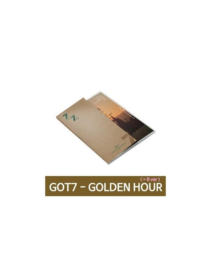 GOT7 - 7 FOR 7 CD + POSTER (Ver.GOLDEN Hour) (B  Ver.)