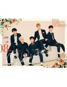 HIGHLIGHT 2nd Mini Album - CELEBRATE (A VER.) CD + Poster