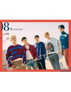 HIGHLIGHT 2nd Mini Album - CELEBRATE (B VER.) CD + Poster