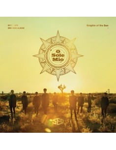 SF9 3rd Mini Album - KINGHTS OF THE SUN CD + Poster
