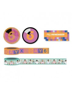 Masking Tape Set - DAY6 Every DAY6 Concert in October Concert Goods