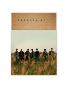 BTOB 2nd Ablum - BROTHER ACT CD + Poster