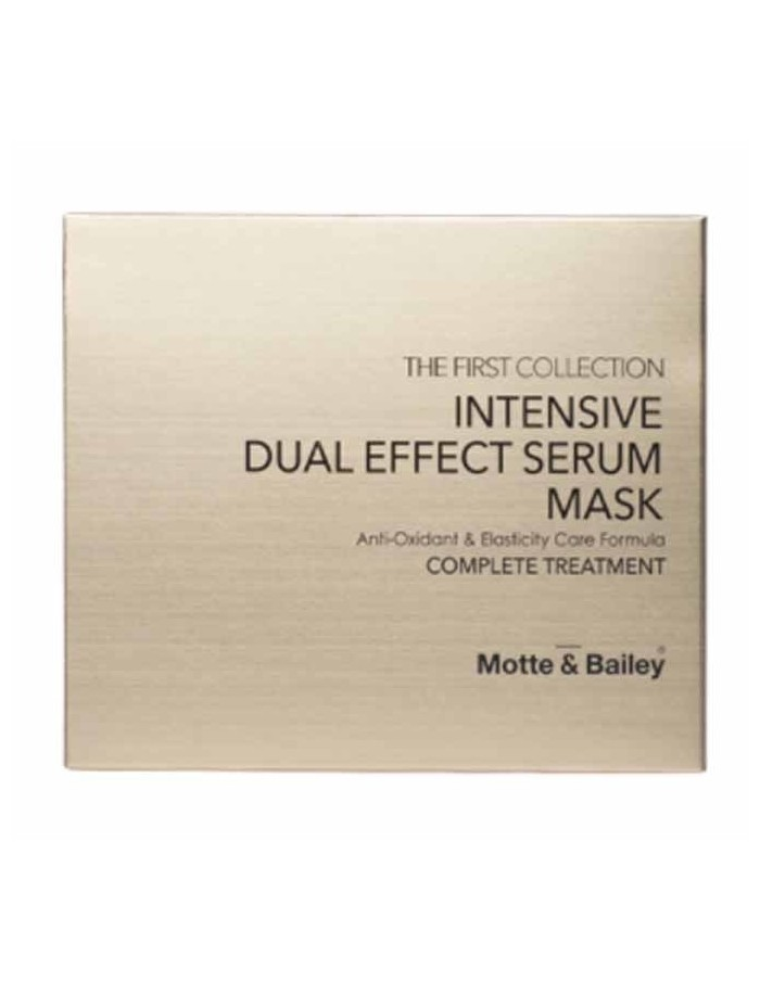 [ Motte&Bailey ] The First Collection INTENSIVE DUAL EFFECT SERUM MASK