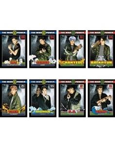 EXO 3D Lenticular Postcard Set : THE WAR Ver (8Kinds)