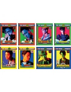 EXO Spring Note : THE WAR Ver (8Kinds)