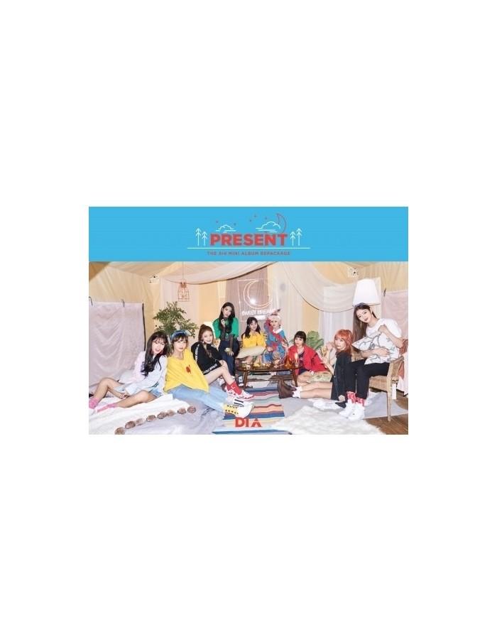 DIA 3rd Mini Album Repackage - PRESENT CD + Poster