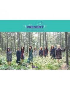 DIA 3rd Mini Album Repackage - PRESENT( Good Morning Ver) CD + Poster
