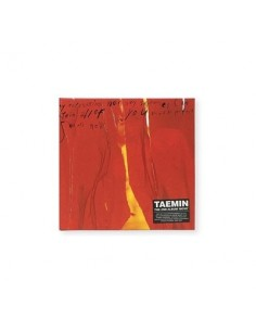 SHINEE TAEMIN 2nd Album - MOVE CD (WILD Ver) + Poster