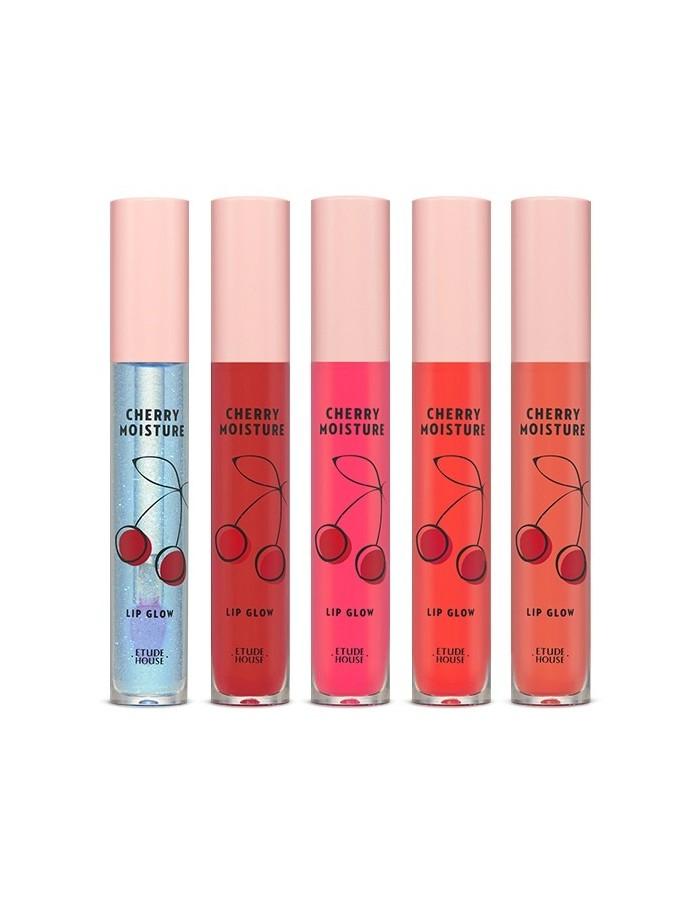 [ETUDE HOUSE] Cherry Moisture Lip Glow (5Colors)