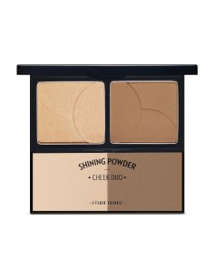 [Etude House] Shinning Powder Cheek Duo - Latte Blending