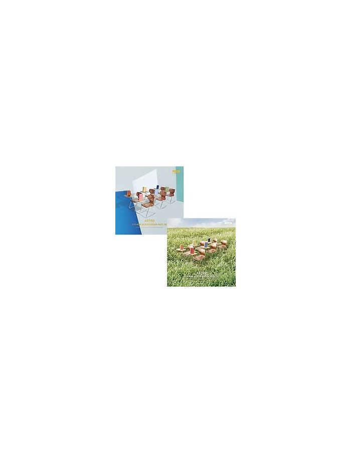 [SET] ASTRO 5th Mini Album - Dream Part.02 (WISH+WIND) 2CDs + 4 Random Posters