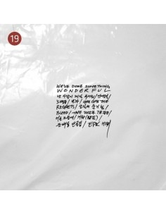 Epik High 9th Album- WE'VE DONE SOMETHING WONDERFUL CD