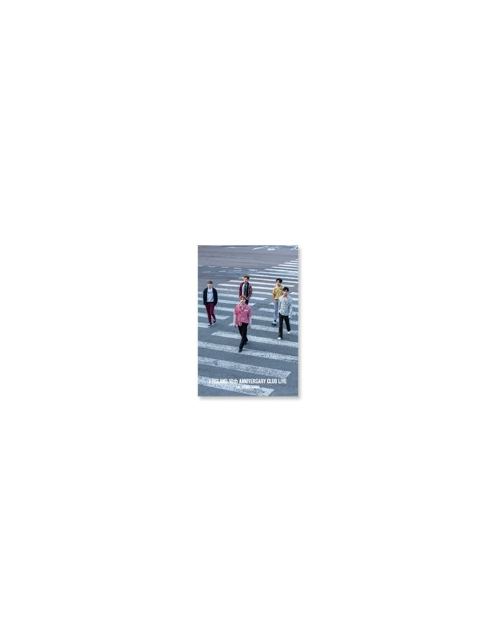 FTISLAND - 10th Anniversary Club Live Goods : LENTICULAR POSTCARD