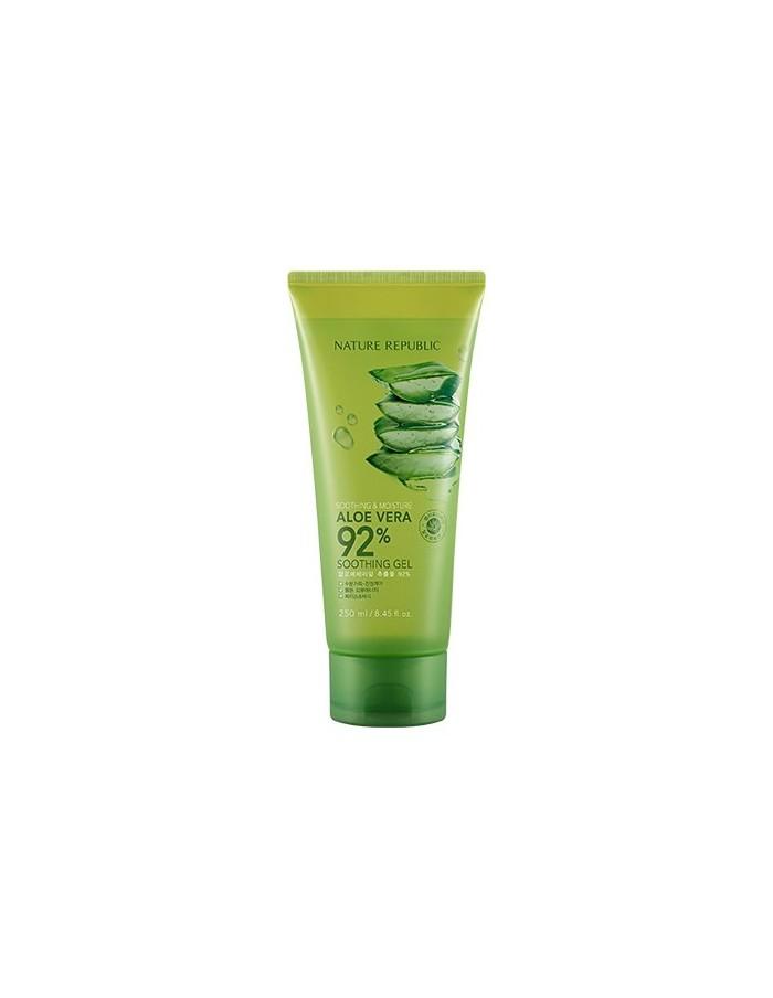 [ Nature Republic ] Soothing & Moisture Aloe Vera 92% Soothing Gel 250ml