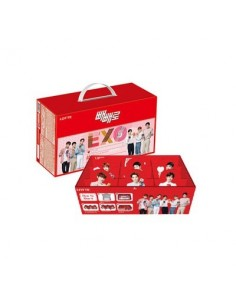 EXO Lotte Pepero Package Ver.3 (12PEPERO + EXO TIDE BOX)