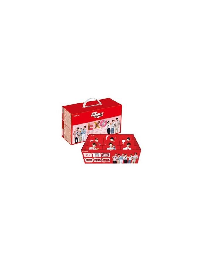 EXO Lotte Pepero Package Ver.3 (12PEPERO + EXO TIDE BOX)