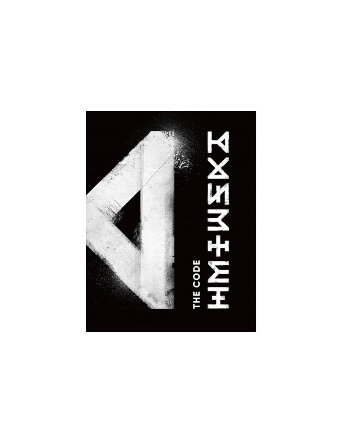 MONSTA X 5th Mini Album - THE CODE CD + Poster [Ver. DE:CODE]