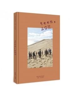 SEVENTEEN 2nd Album - TEEN,AGE (Ver.ORANGE) CD + Poster