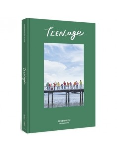 SEVENTEEN 2nd Album - TEEN,AGE (Ver.GREEN) CD + Poster