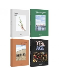[SET] SEVENTEEN 2nd Album - TEEN,AGE 4CDs + 8 Posters