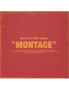 Block B 6th Mini Album - MONTAGE CD + Poster