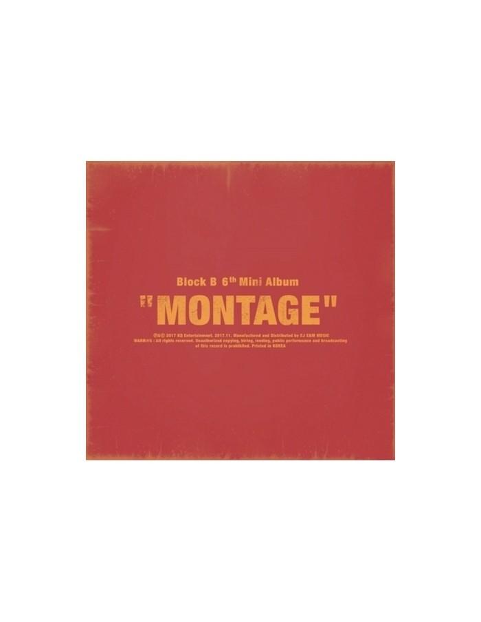 Block B 6th Mini Album - MONTAGE CD + Poster