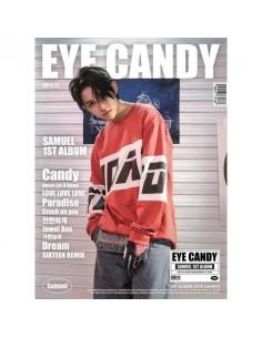 SAMUEL 1st Album - EYE CANDY CD + Poster