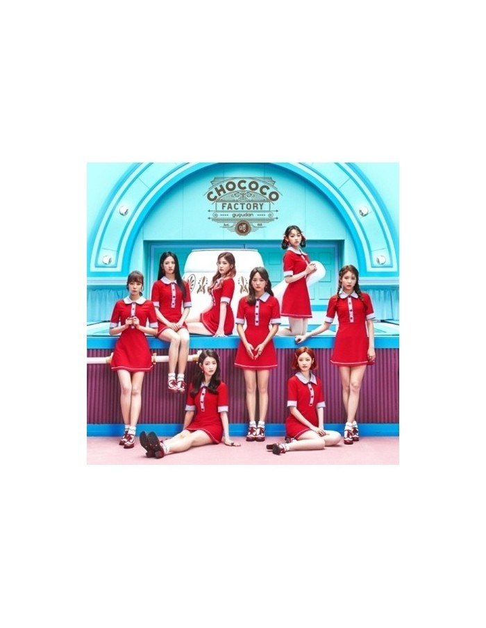구구단 gugudan 1st single - Chococo Factory CD + Poster