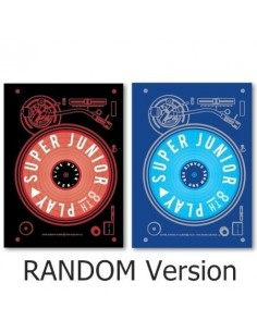 [Random Ver.] Super Junior 8th Album - PLAY CD + Poster