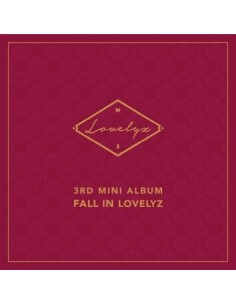LOVELYZ 3rd Mini Album - FALL IN LOVELYZ CD + Poster