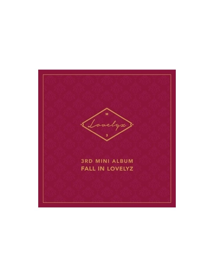 LOVELYZ 3rd Mini Album - FALL IN LOVELYZ CD + Poster