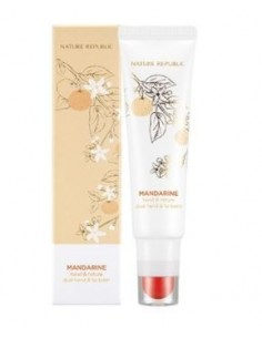 [ Natrure Republic ] Hand and Nature Mandarin Dual Hand & Lip Balm 32.2ml