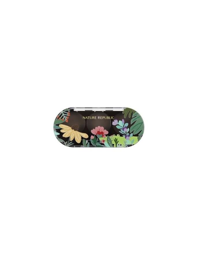 [ Natrure Republic ] Beauty Tool Eye Shadow Three Duplexer 1kg