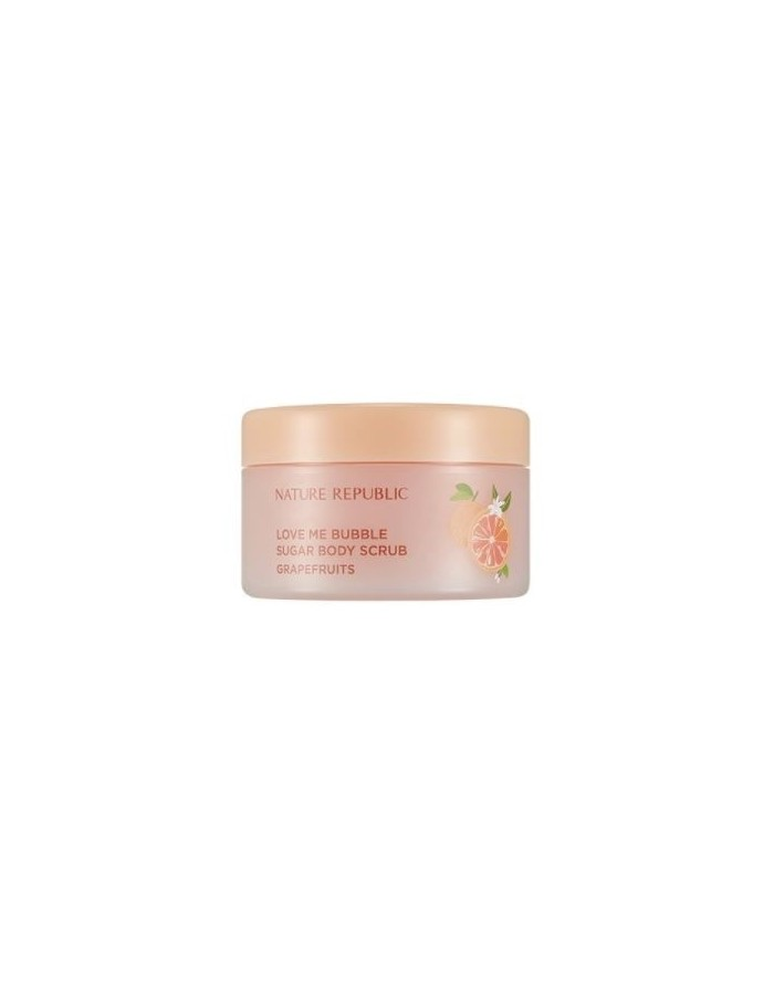 [ Nature Republic ] Love Me Bubble Sugar Body Scrub 200g