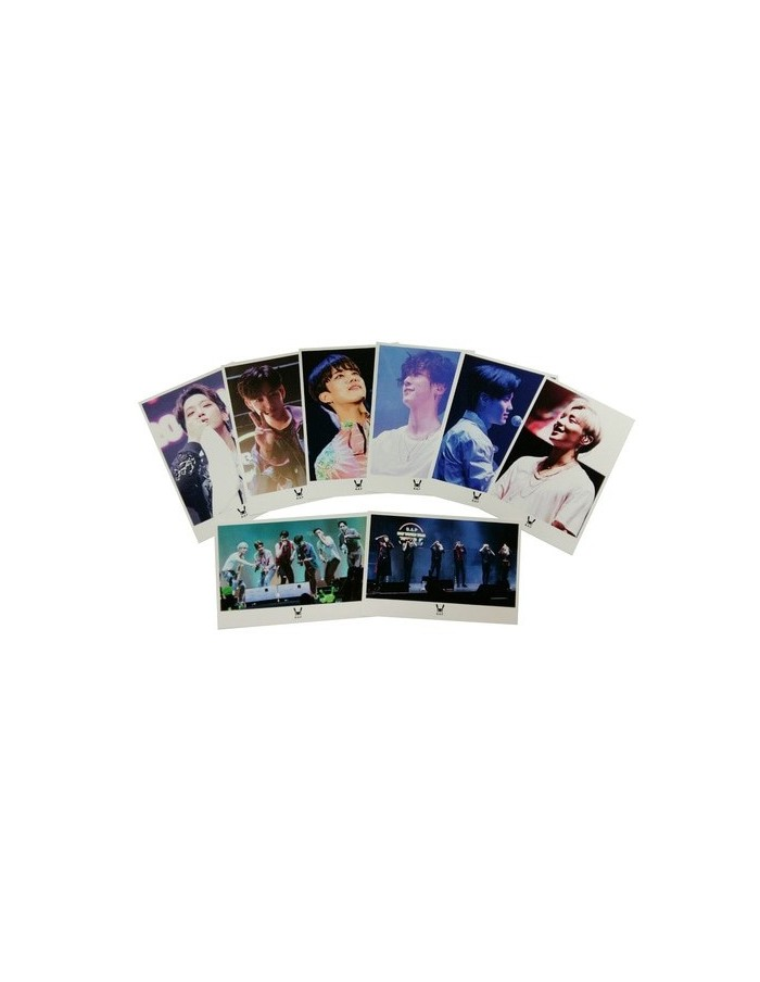 B.A.P - 2017 World Tour 'Party Baby' Climax Concert : Post Card Set