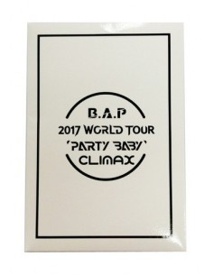 B.A.P - 2017 World Tour 'Party Baby' Climax Concert : Polaroid Set (Random)