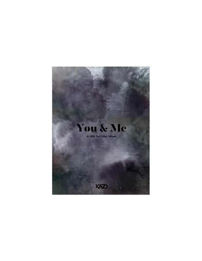 KARD 2nd Mini Album - YOU & ME CD + Poster