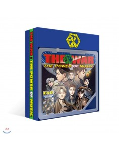 EXO 4th Album Repackage - THE WAR: The power of Music (Khino Smart Music Album)