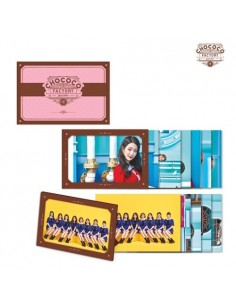 gugudan POST CARD FRAME SET - Act.3 Chocochoco Factory