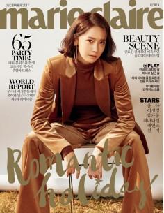 [Magazine] Marie Claire 2017-12 Yoona, Choi Daniel, Rainz, Sunmi, Lee Sung Kyung