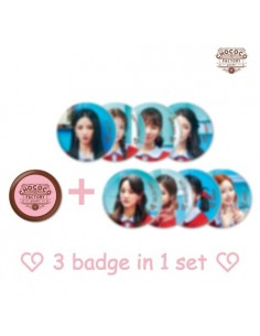 gugudan RANDOM CAN BADGE CAPSULE - Act.3 Chococo Factory