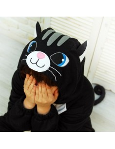 SHINEE Animal Pajamas - BLACK CAT vol.2