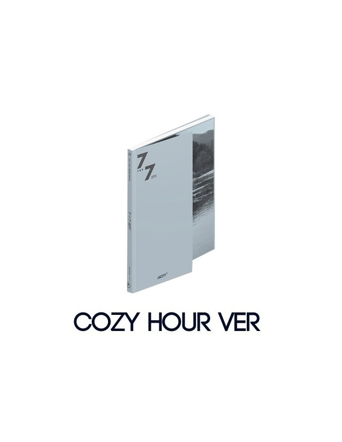 GOT7 - 7 FOR 7 PRESENT EDITION CD + POSTER (COZY HOUR Ver)