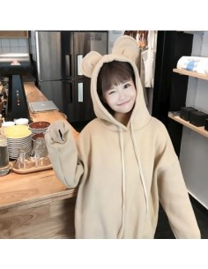 [H94] My Pet Ear Layered Napping Hoodie